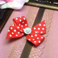Christmas hair bow with free shipping