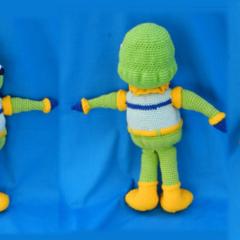 Alien Guy Doll