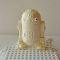 R2D2 ORNAMENT - Star Wars inspired handmade resin shelf sitter/paperweight