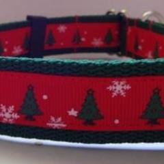 25mm Christmas Dog Collar