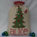 Anne's Santa Sack Order