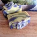 """Still Water"" For Men Handmade Soap with Pale Blue Aussie Spa Minerals"