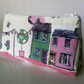 House and Bunting Purse