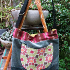 Amrita reclaimed fabric bag