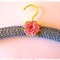 Light Blue | Crocheted Covered Coat Hanger