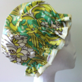 Handmade Laminated Cotton Shower Cap - PVC FREE Amy Butler Fabric. Eco Friendly