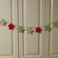 A String of Festive Christmas Stars... Crochet Garland
