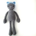 Milton- Crochet Bear Beanie Softie - Amigurumi