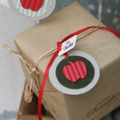 Apple for the Teacher Tag + 2 bonus surprise tags ~ Christmas Tag ~ Teacher Tag