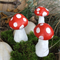 RESERVED FOR MEREDITH - Fairy Garden Mushrooms