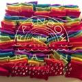 Rainbow Beanbags - bump bags, hand warmers