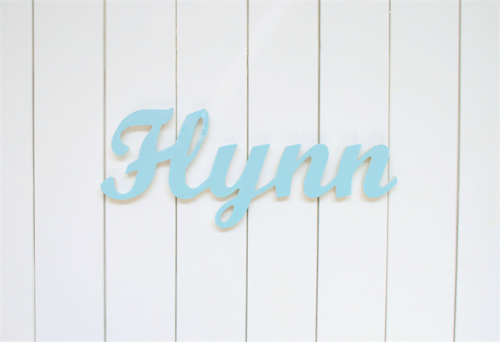 Personalised Fabric Wood Name Signs S Boys Decor Nursery