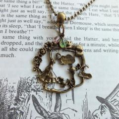 Alice in Wonderland Garden Necklace