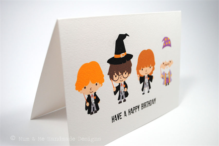 Happy Birthday Card Boy or Girl Harry Potter HBC118 – Harry Potter Birthday Card