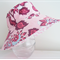 Girls summer hats in beautiful floral fabric