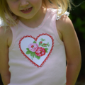 Girls Singlet Top - Sweet Heart. birthday party. baby gift. toddler pants.