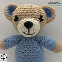 Personalised Teddy Soft Kids Toy Boy – Amigurumi