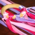 2 Hand Kites - Pink Pastels