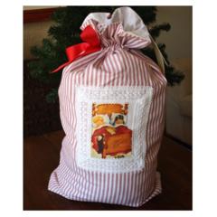 Vintage Style Santa Sack - Christmas