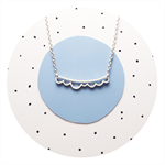 Cloud Necklace | sterling silver necklace | cloud pendant | silver cloud | cute