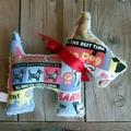 Ben Plush Vintage Chenille Scottie Dog