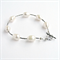 Pearl and Hill Tribe Silver Bracelet