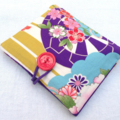 Sanitary / Pads wallet - Japanese pink rose purple - higgi handmade