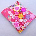 Sanitary / Pads wallet - Japanese pink red cherry blossom  - higgi handmade