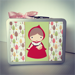 Personalised Storage Carry Cases - Kids Gifts - Little Red Riding Hood