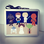 Personalised Storage Carry Cases - Kids Gifts - Star Wars