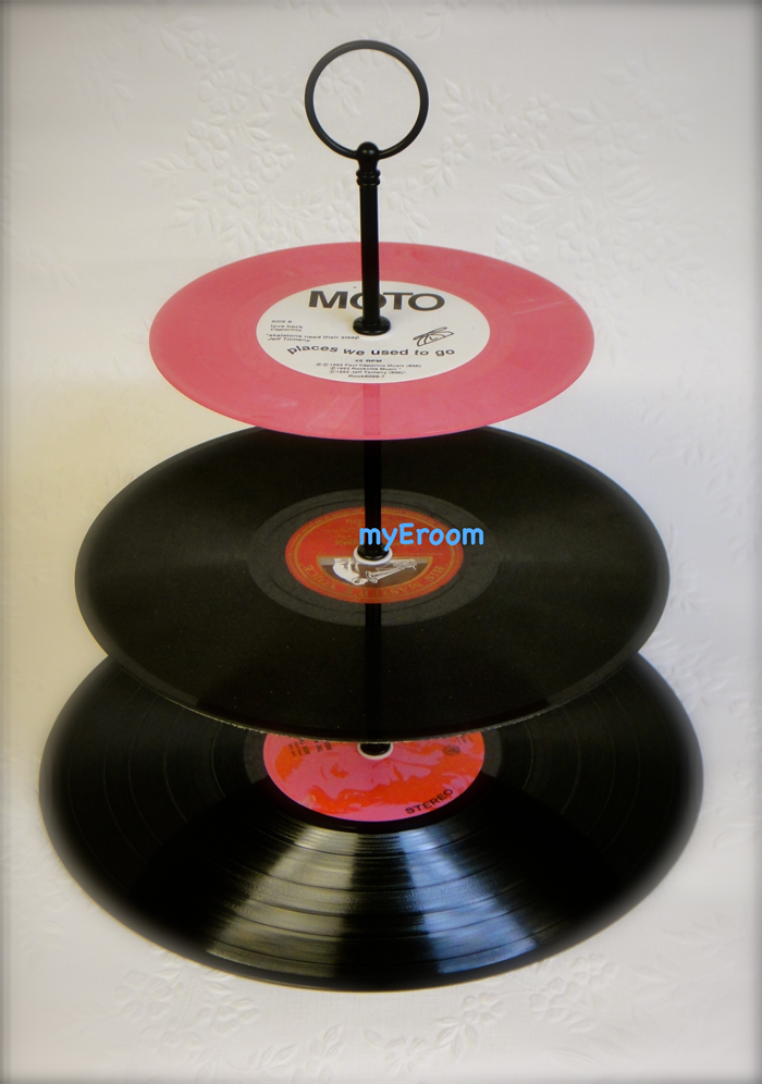 Make Cake Stand Vinyl Records