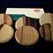 Tasmanian SASSAFRAS Coasters