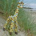 """""""Mr Bertie Buttons"""" the giraffe"""