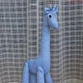 """Mr Baby Blue"" the giraffe"