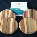 LAMINATED Tasmanian Timber Coasters