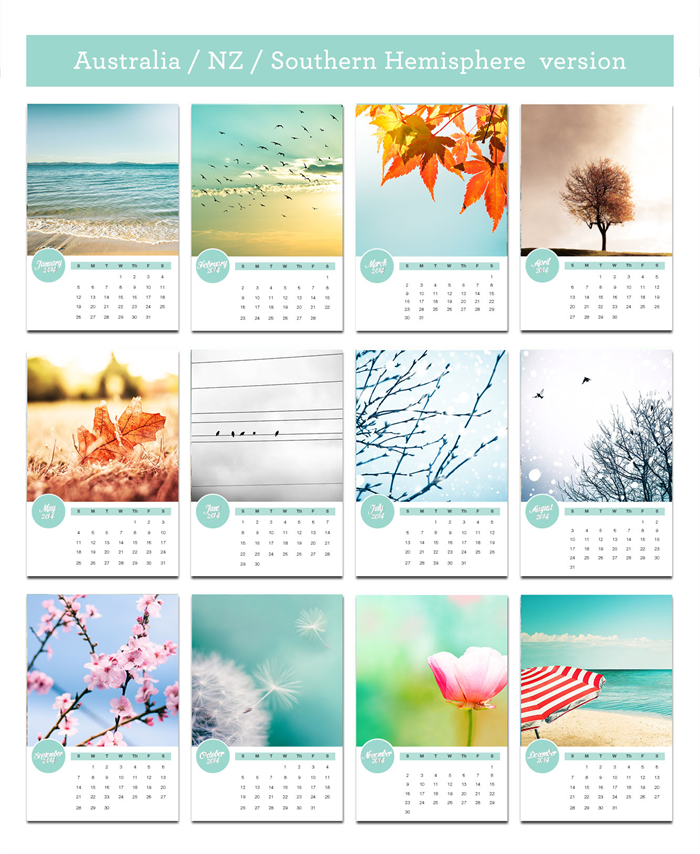 Desk Calendar Photography : Photography calendar easel seasonal desk