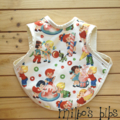 Candy shop Milbo's cotton bib retro sweets icecream