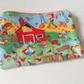 fabric zip zipper pouch gift idea boys girls christmas stocking filler