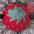 Small Strawberry Tea Cosy