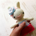 READY TO SHIP .. bunny rabbit, white animal, toy softie .. selena rabbit
