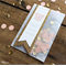 25 x Peach & Gold Save the Date  Confetti Bags