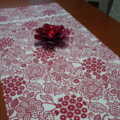 Table Runner - Red & White