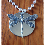 Gorgeous Dragonfly Necklace