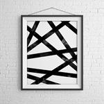 Cross the Line Print