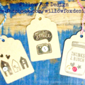 Gift Tags - Thank you (Thanks) House Warming and generic tag - pack of 9