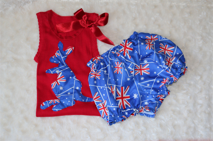 Hermes Australia Baby Gifts : Size set australia day outfit shorts singlet