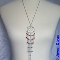"""""""AUSTRALIA DAY"""" earring and necklace set"""