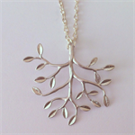 Tree Necklace in Silver, Mother's Day Gift