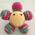 Crochet Flower Soft Toy