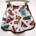 Retro Train shorts. Made to order sizes 00 ~ 4.  Racer Style.